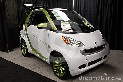 2011 Smart Electric Editorial Photo