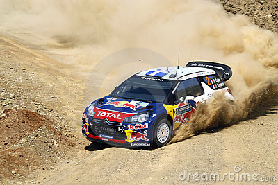 2011 WRC Rally Acropolis - Citroen DS3 Editorial Photography