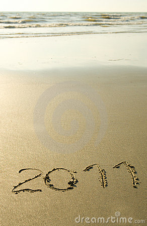 2011 written on the sand