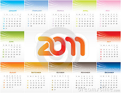 1 page yearly calendar 2011. 2011 YEARLY CALENDAR (click