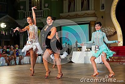 Ο καλλιτεχνικός χορός απονέμει το 2012-2013 Εκδοτική Στοκ Εικόνα