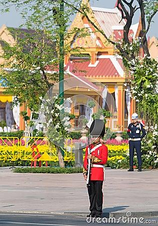 του 2012 Μπανγκόκ κηδεία Απριλίου βασιλική Εκδοτική Φωτογραφία