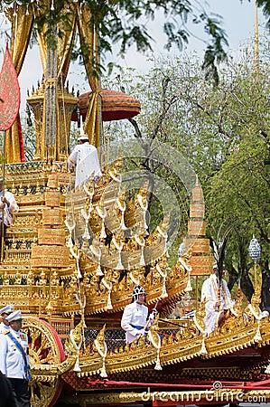 του 2012 Μπανγκόκ κηδεία Απριλίου βασιλική Εκδοτική Εικόνες