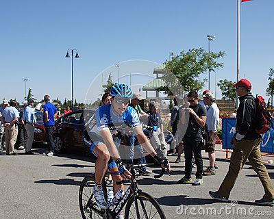 2012 Amgen Tour of California Jacob Rathe Editorial Stock Image