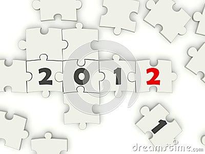 2012 Años Nuevos cantan