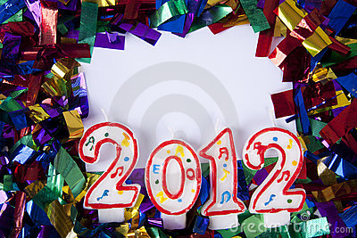 2012 background with copyspace