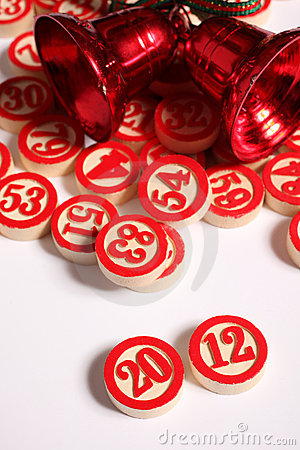 Free 2012 - Bingo Numbers On White Royalty Free Stock Image - 21988706