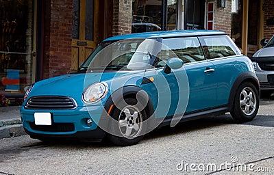2012 Blue Mini Cooper
