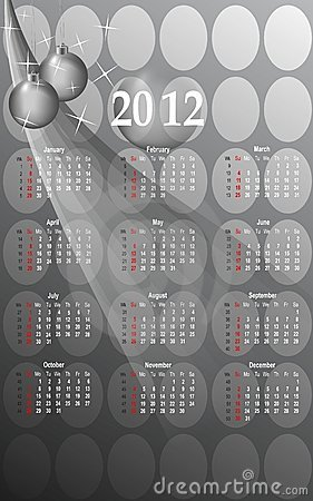 2012 business style calendar, cdr vector