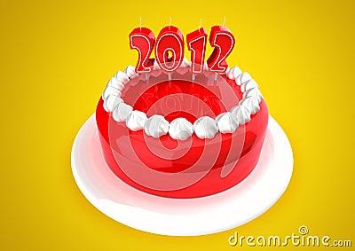 2012 Cake