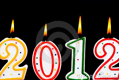 2012 candles