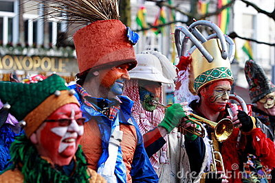 2012 Carnival in Maastricht Editorial Stock Image