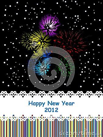 2012 celebration card