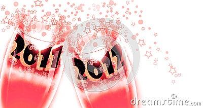 2012 celebrations, New Year