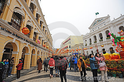 2012 chinese new year in macau Editorial Photography