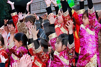 2012 Chinese New Year Parade in San Francisco Editorial Stock Image