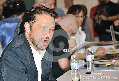2012 Comic Con - Jason Priestley Editorial Image