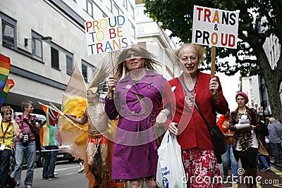 2012, de Trots van Londen, Worldpride Redactionele Foto