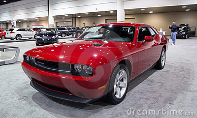 2012 Dodge Challenger SXT Editorial Photography