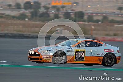 2012 Dunlop 24 Hours Race in Dubai Editorial Photo