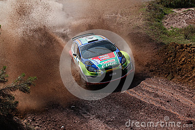 2012 ERC Bosphorus Rally Editorial Image