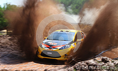 2012 ERC Bosphorus Rally Editorial Photo
