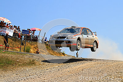2012 ERC Bosphorus Rally Editorial Photography