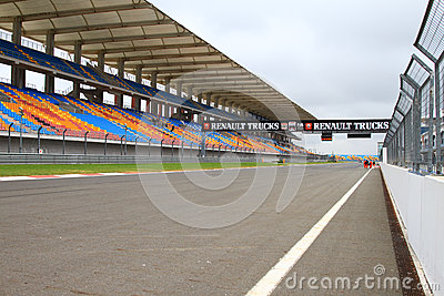 2012 FIA European Truck Racing Championship Editorial Stock Image