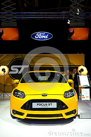 2012 Ford Focus ST sport hatchback Editorial Stock Image