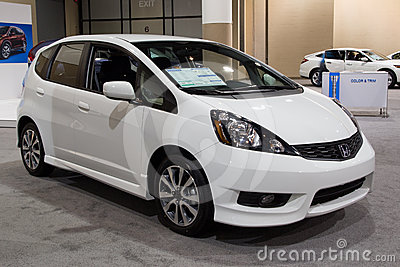 2012 honda Fit Sport Editorial Stock Image