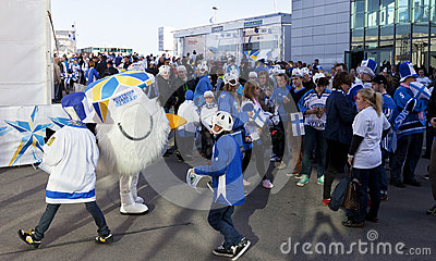 2012 Ice Hockey World Championship Editorial Image