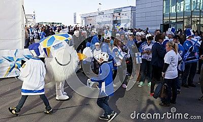 2012 Ice Hockey World Championship Editorial Image