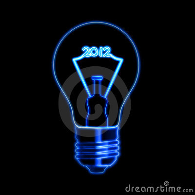 Free 2012 In Bulb Stock Photos - 19939613