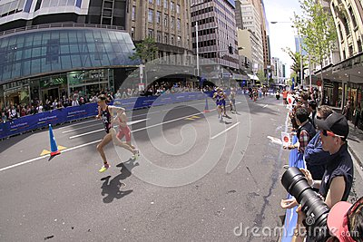 2012 ITU World Triathlon Grand Finals Editorial Photo