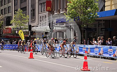 2012 ITU World Triathlon Grand Finals Editorial Stock Photo