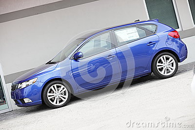 2012 Kia Forte Editorial Photography