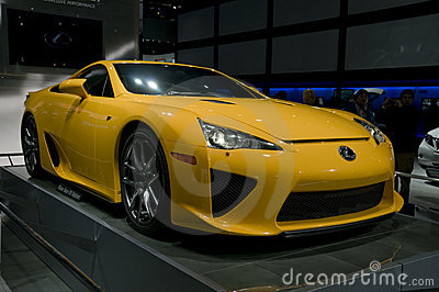 2012 Lexus LFA at NAIAS Editorial Image