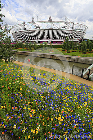 2012 London olympic stadium Editorial Image