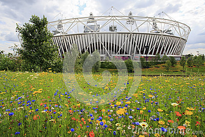 2012 London olympic stadium Editorial Photography