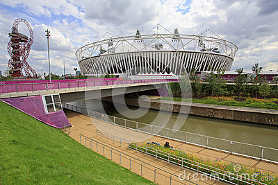 2012 London olympic stadium Editorial Image