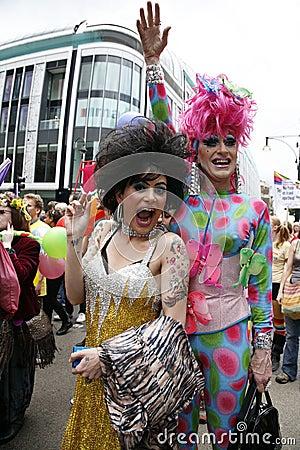 2012, London Pride, Worldpride Editorial Stock Image