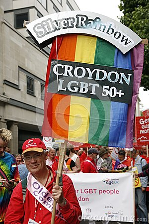 2012, London Pride, Worldpride Editorial Photo