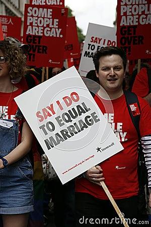 2012, London Pride, Worldpride Editorial Stock Photo