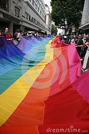 2012, London Pride, Worldpride Editorial Stock Photo