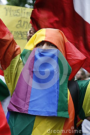 2012, London Pride, Worldpride Editorial Stock Image