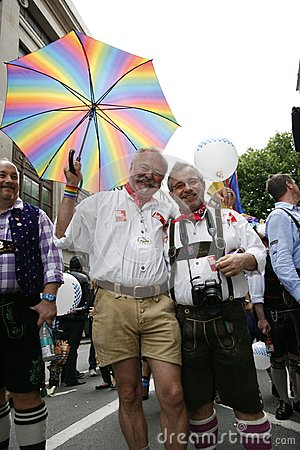2012, London Pride, Worldpride Editorial Image