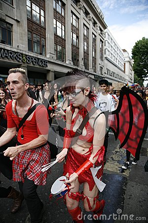 2012, London Pride, Worldpride Editorial Photography