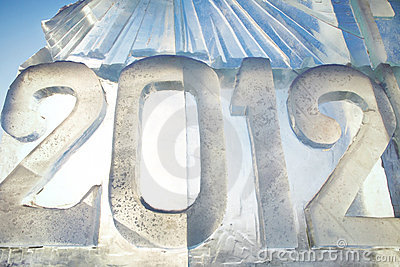 2012 made of ice
