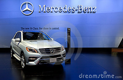 2012 Mercedes ML550 4Matic Editorial Stock Image