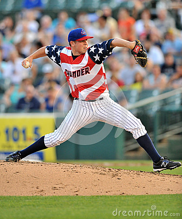 2012 MiLB - Fourth of July in the Minors Editorial Photography